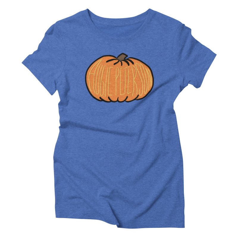Augie Peterson Pumpkin Women's Triblend T-Shirt by Augie's Attic