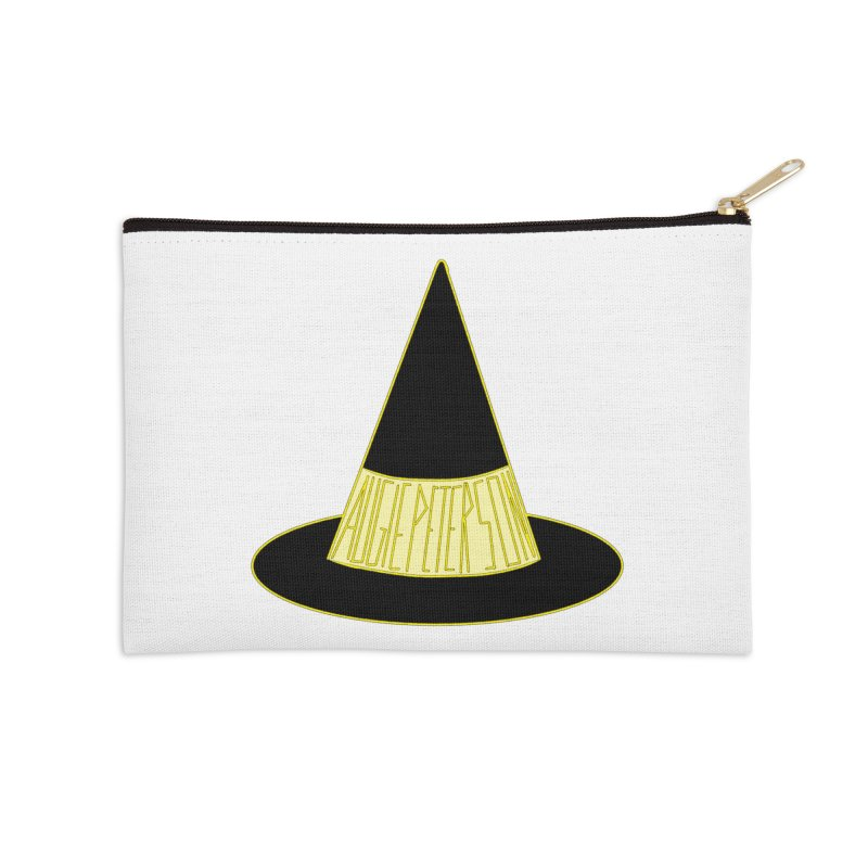 Augie Peterson Witch Hat Accessories Zip Pouch by Augie's Attic