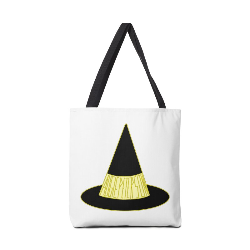 Augie Peterson Witch Hat Accessories Tote Bag Bag by Augie's Attic