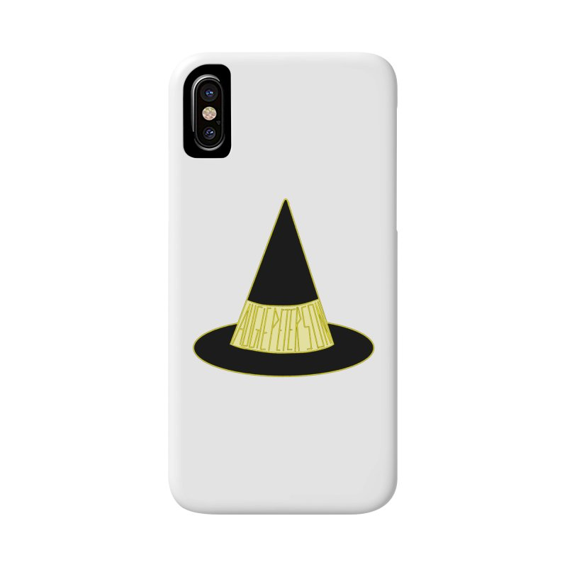 Augie Peterson Witch Hat Accessories Phone Case by Augie's Attic