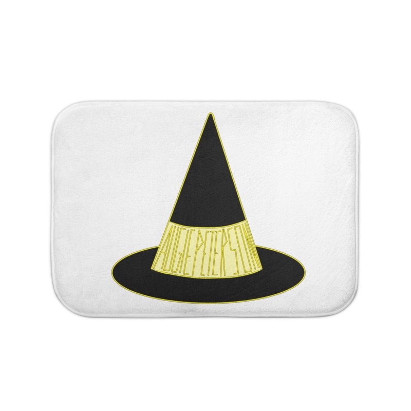 Augie Peterson Witch Hat Home Bath Mat by Augie's Attic
