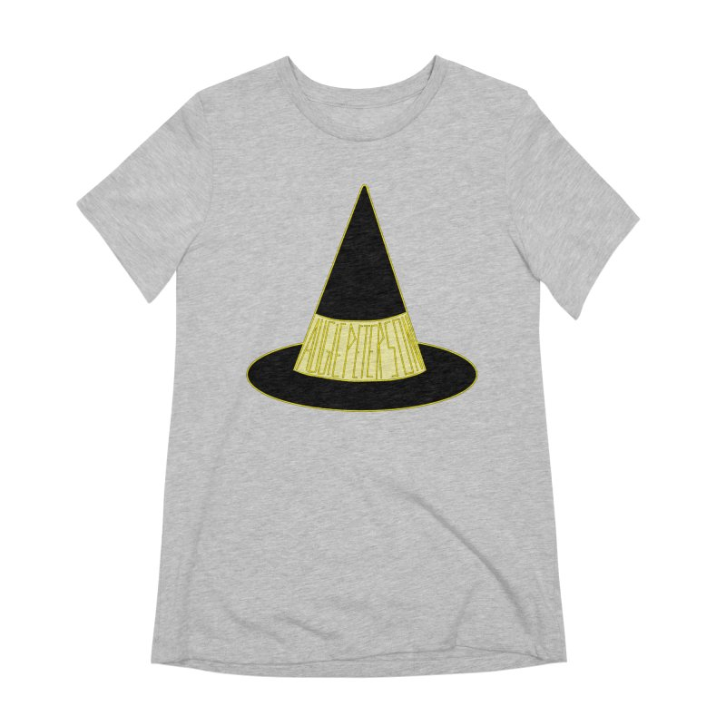 Augie Peterson Witch Hat Women's Extra Soft T-Shirt by Augie's Attic