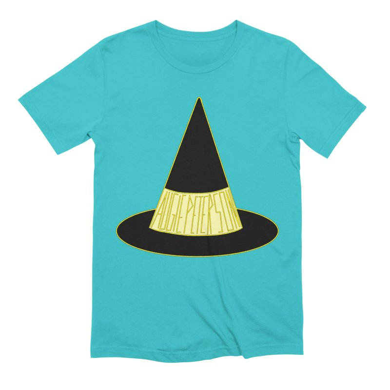 Augie Peterson Witch Hat Men's Extra Soft T-Shirt by Augie's Attic