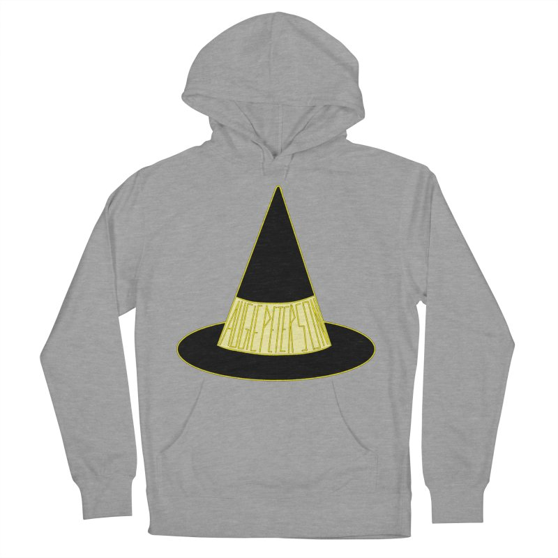 Augie Peterson Witch Hat Women's French Terry Pullover Hoody by Augie's Attic