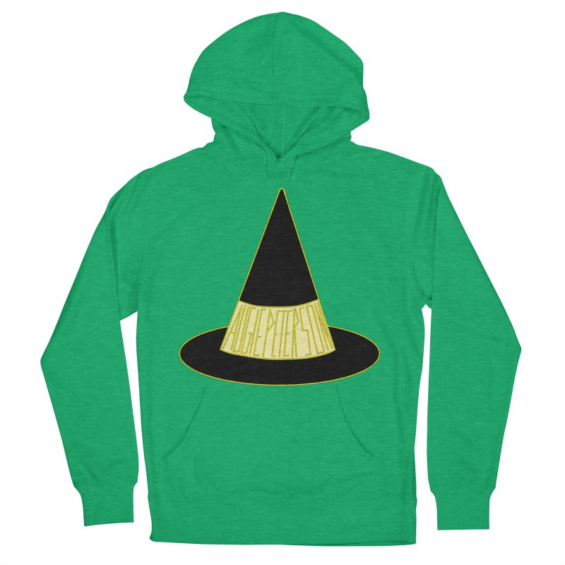 Augie Peterson Witch Hat Men's French Terry Pullover Hoody by Augie's Attic