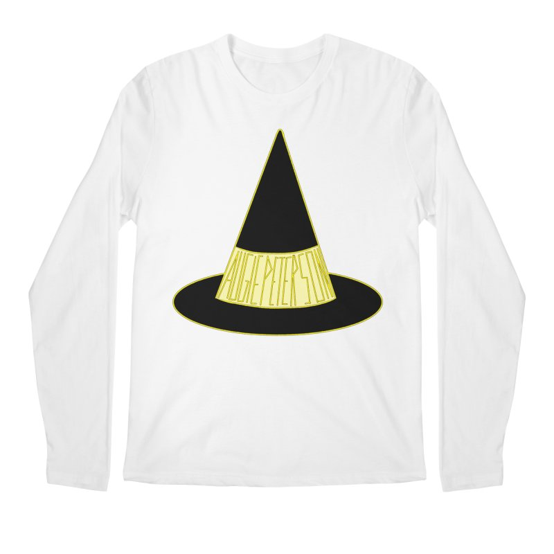 Augie Peterson Witch Hat Men's Regular Longsleeve T-Shirt by Augie's Attic