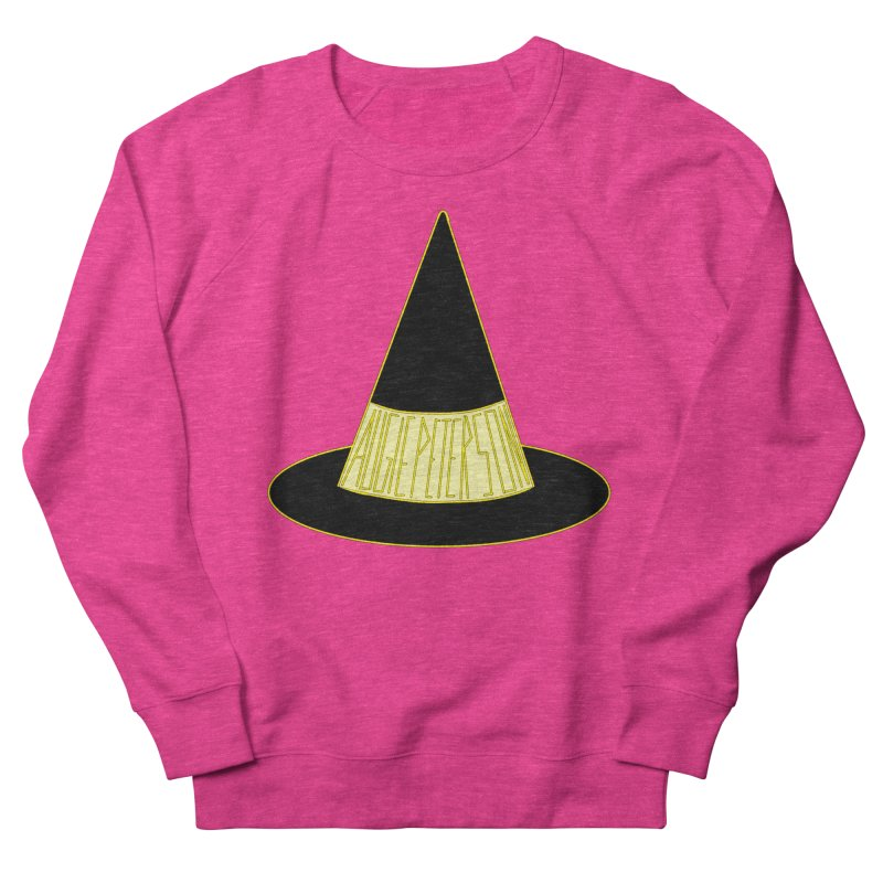 Augie Peterson Witch Hat Men's French Terry Sweatshirt by Augie's Attic