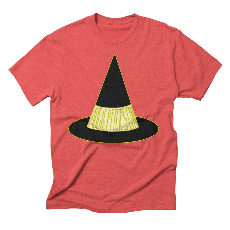 Augie Peterson Witch Hat Men's Triblend T-Shirt by Augie's Attic
