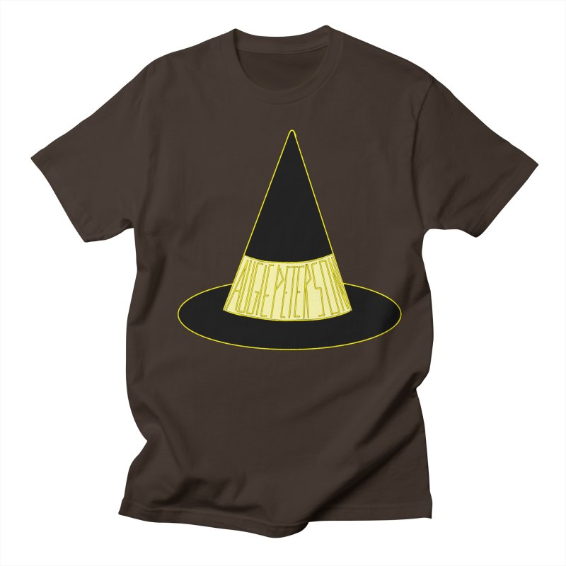Augie Peterson Witch Hat Men's Regular T-Shirt by Augie's Attic