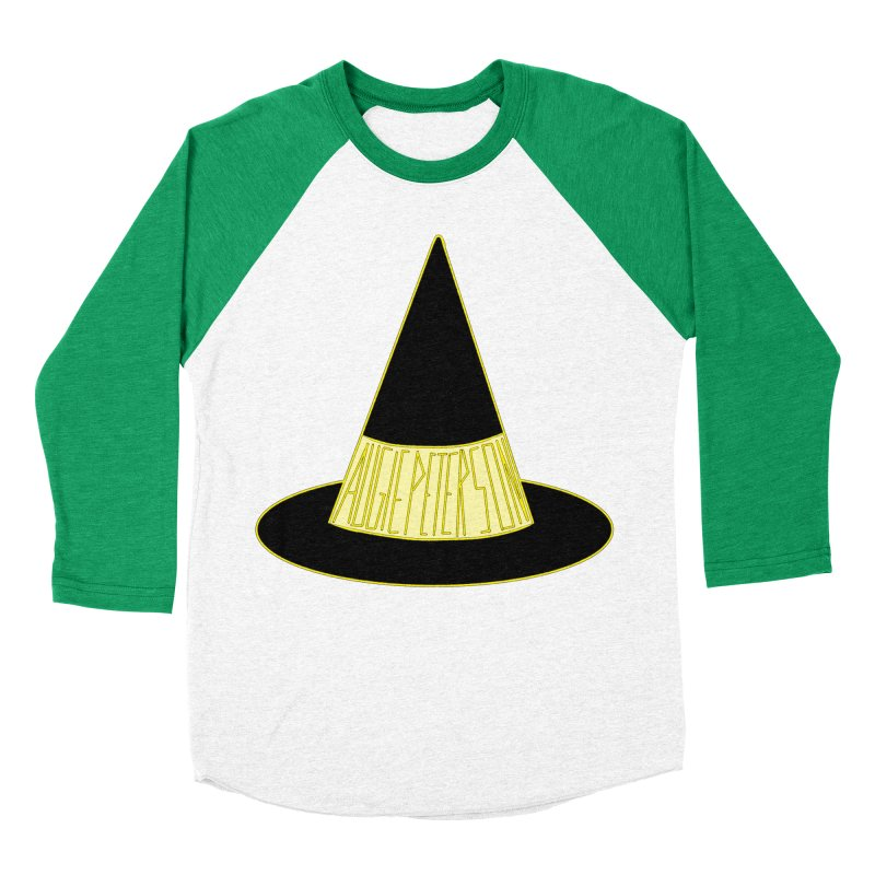 Augie Peterson Witch Hat Men's Baseball Triblend Longsleeve T-Shirt by Augie's Attic