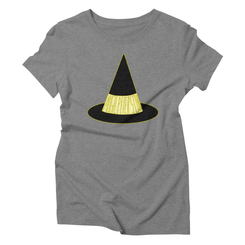 Augie Peterson Witch Hat Women's Triblend T-Shirt by Augie's Attic