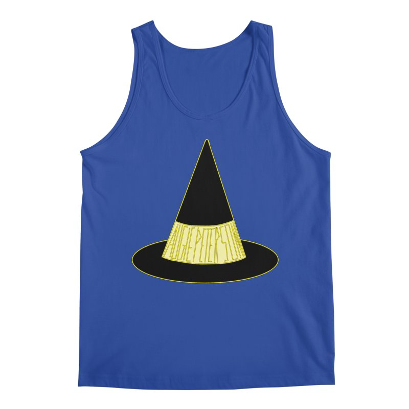 Augie Peterson Witch Hat Men's Regular Tank by Augie's Attic
