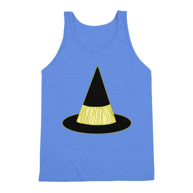 Augie Peterson Witch Hat Men's Triblend Tank by Augie's Attic