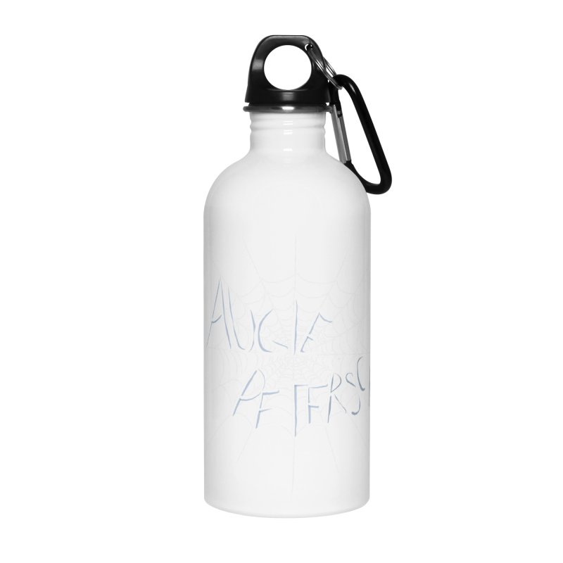 Augie Peterson Spiderweb Accessories Water Bottle by Augie's Attic