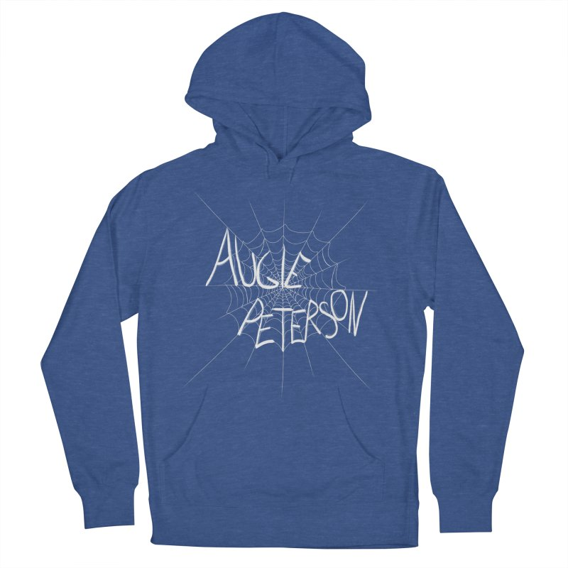 Augie Peterson Spiderweb Women's French Terry Pullover Hoody by Augie's Attic