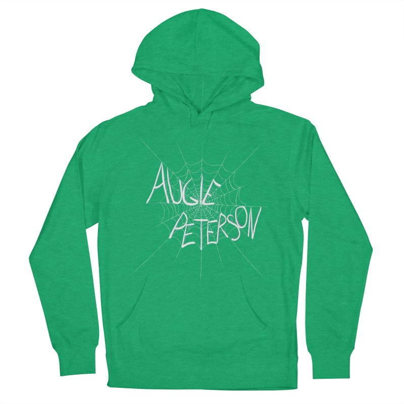 Augie Peterson Spiderweb Men's French Terry Pullover Hoody by Augie's Attic