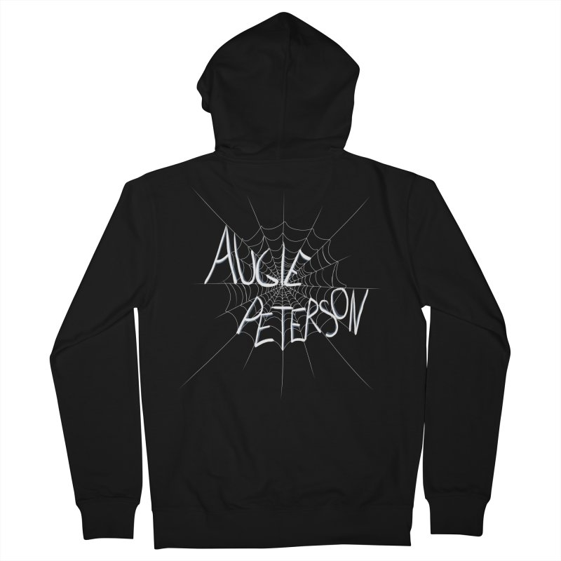 Augie Peterson Spiderweb Men's French Terry Zip-Up Hoody by Augie's Attic