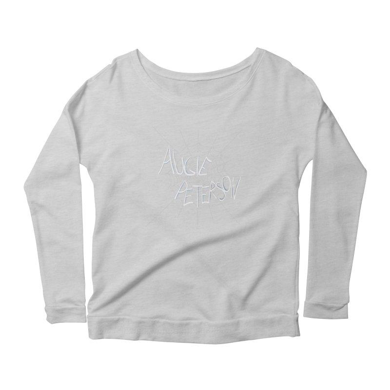 Augie Peterson Spiderweb Women's Scoop Neck Longsleeve T-Shirt by Augie's Attic