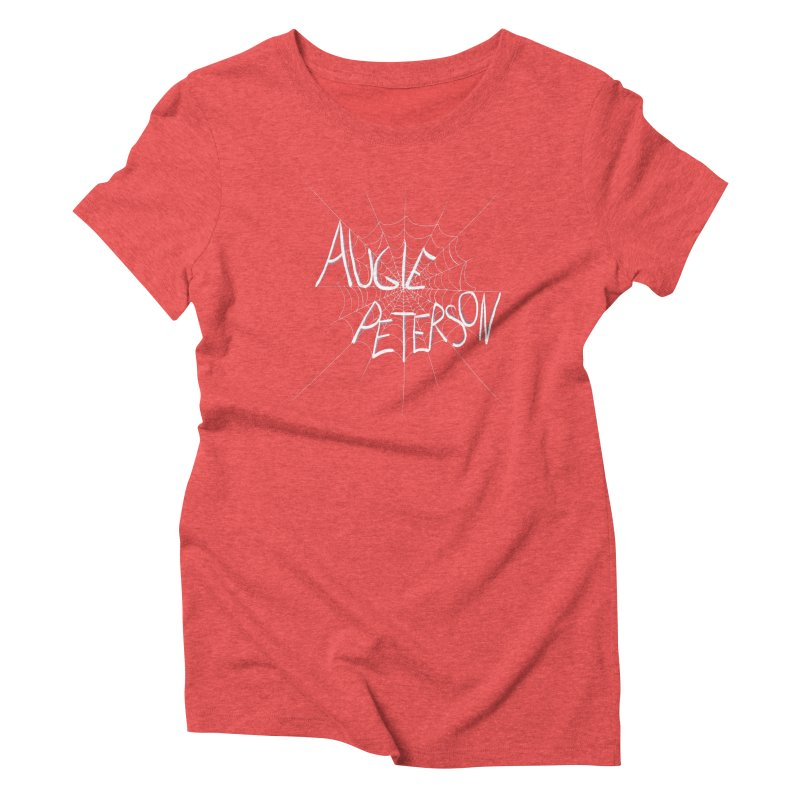 Augie Peterson Spiderweb Women's Triblend T-Shirt by Augie's Attic
