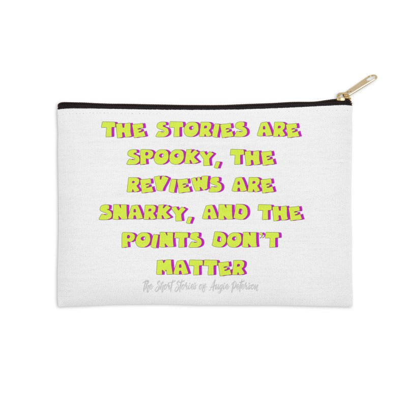 SSAPP Podcast Catchphrase (dark colors) Accessories Zip Pouch by Augie's Attic