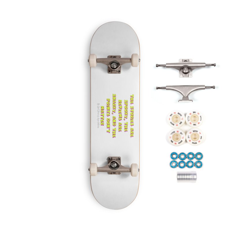SSAPP Podcast Catchphrase (dark colors) Accessories Complete - Premium Skateboard by Augie's Attic