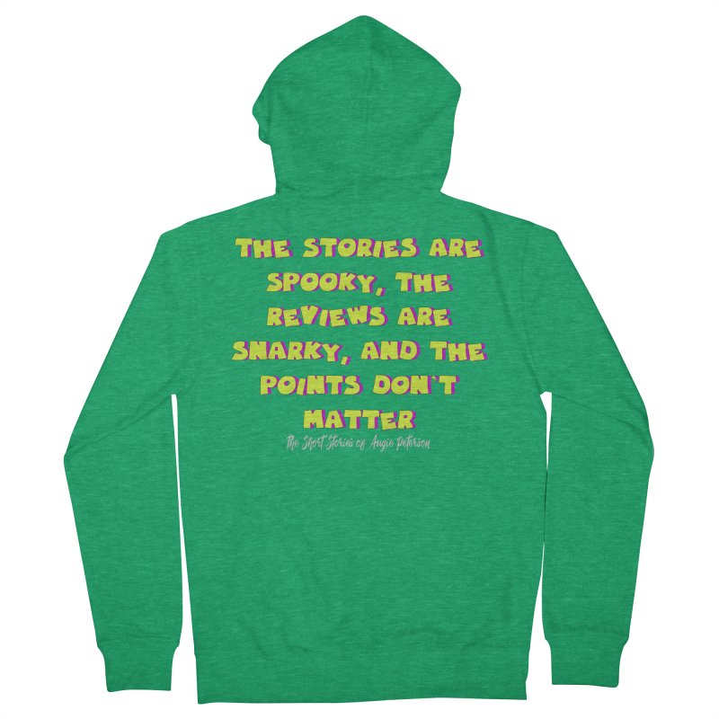 SSAPP Podcast Catchphrase (dark colors) Men's French Terry Zip-Up Hoody by Augie's Attic
