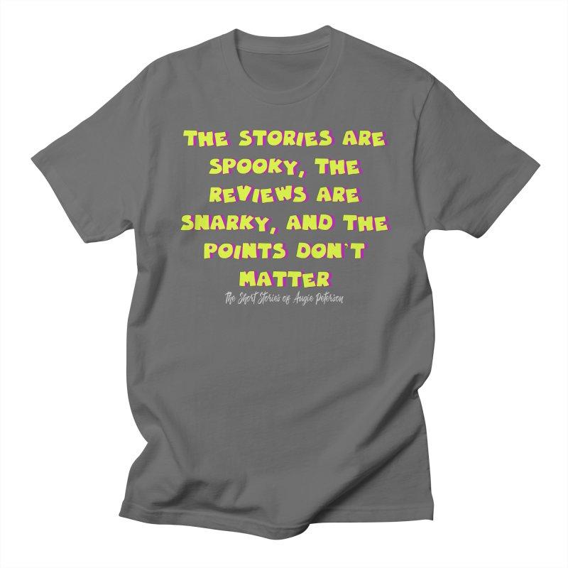 SSAPP Podcast Catchphrase (dark colors) Women's Regular Unisex T-Shirt by Augie's Attic