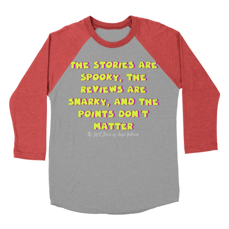 SSAPP Podcast Catchphrase (dark colors) Women's Baseball Triblend Longsleeve T-Shirt by Augie's Attic