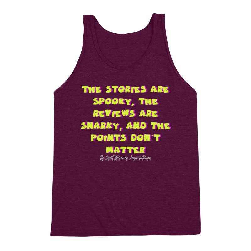 SSAPP Podcast Catchphrase (dark colors) Men's Triblend Tank by Augie's Attic