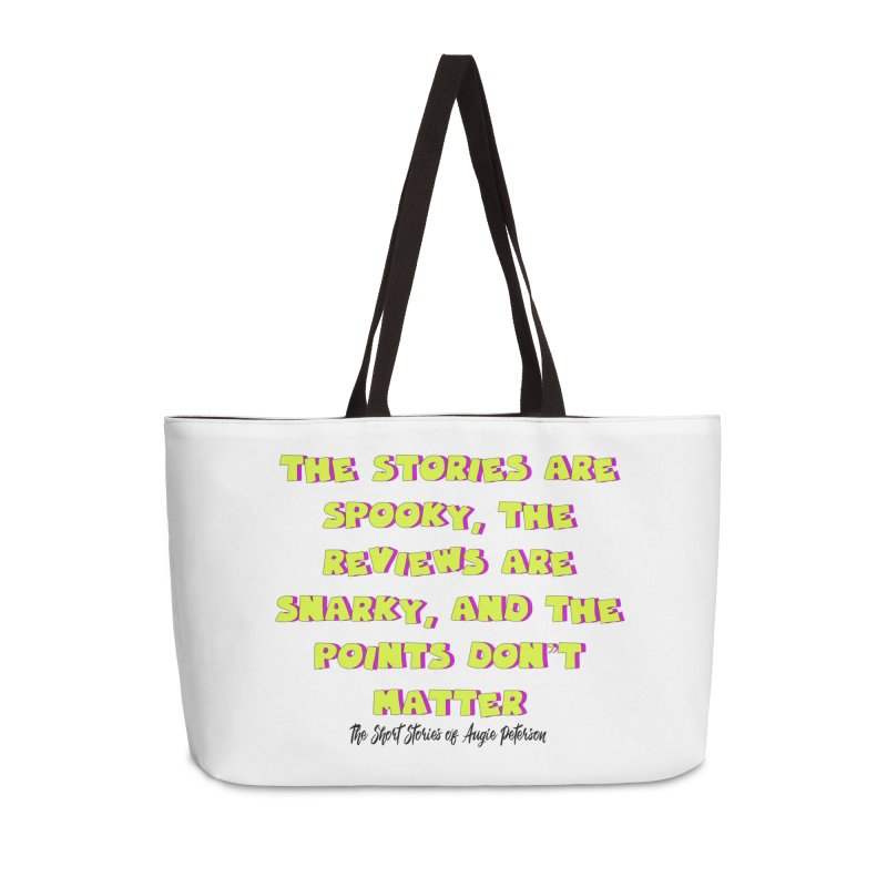 SSAPP Podcast Catchphrase (light colors) Accessories Weekender Bag Bag by Augie's Attic
