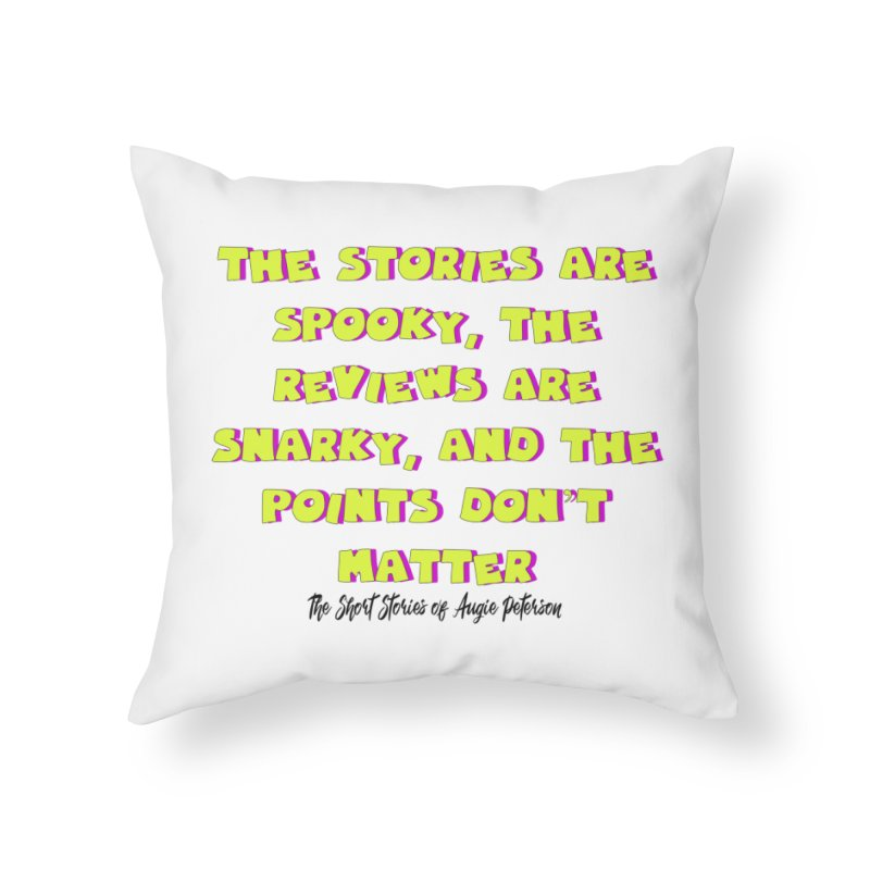 SSAPP Podcast Catchphrase (light colors) Home Throw Pillow by Augie's Attic