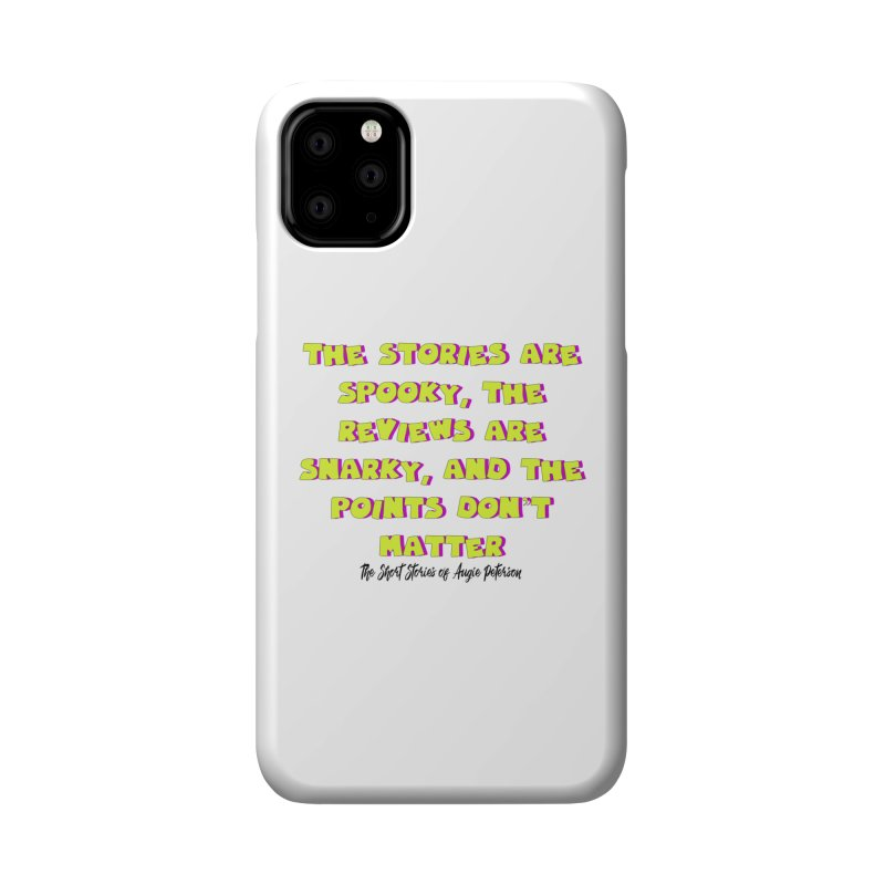 SSAPP Podcast Catchphrase (light colors) Accessories Phone Case by Augie's Attic