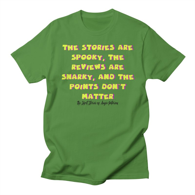 SSAPP Podcast Catchphrase (light colors) Women's Regular Unisex T-Shirt by Augie's Attic