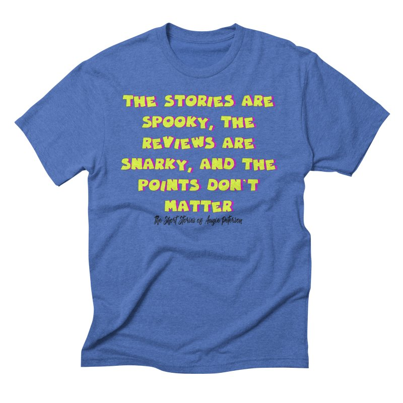 SSAPP Podcast Catchphrase (light colors) Men's Triblend T-Shirt by Augie's Attic
