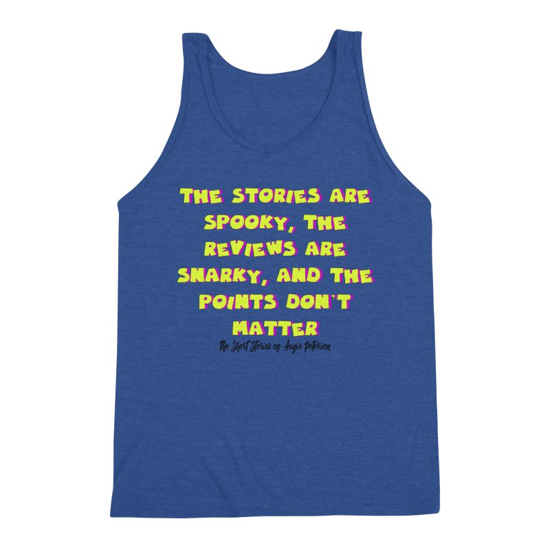 SSAPP Podcast Catchphrase (light colors) Men's Triblend Tank by Augie's Attic