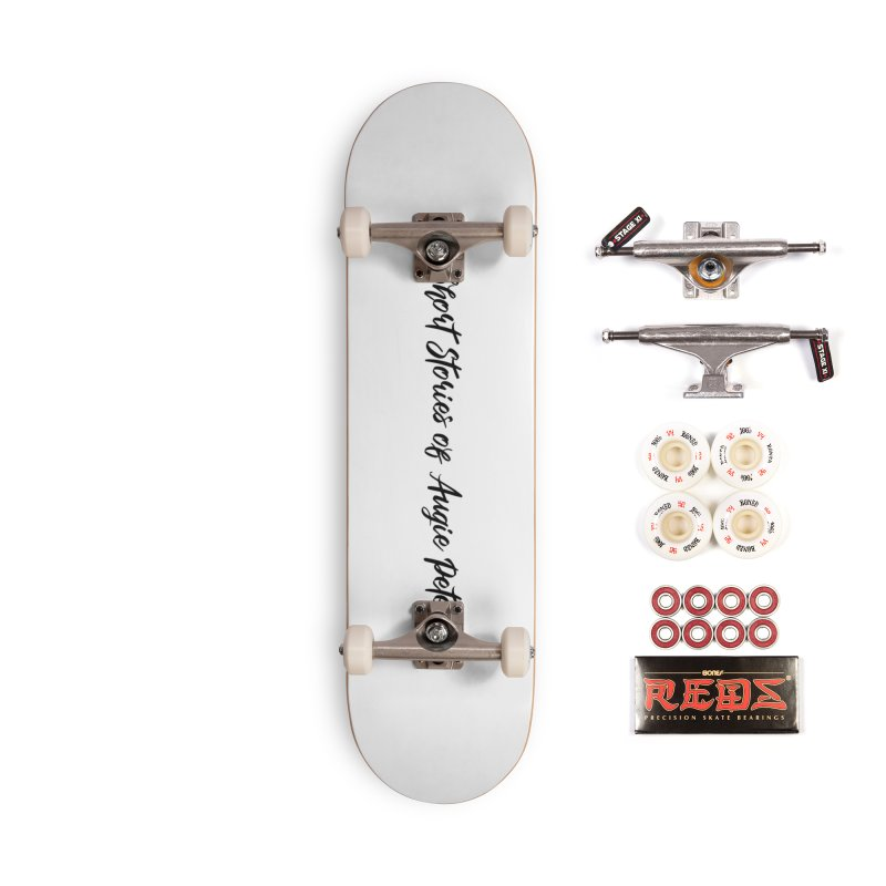 The Short Stories of Augie Peterson (light colors) Accessories Complete - Pro Skateboard by Augie's Attic