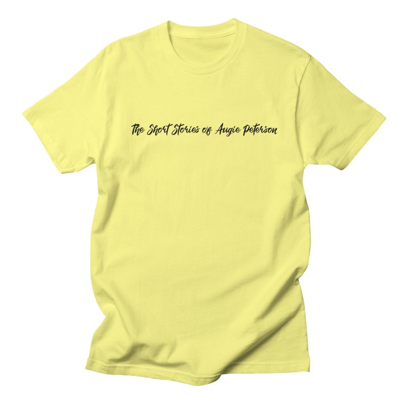The Short Stories of Augie Peterson (light colors) Men's T-Shirt by Augie's Attic