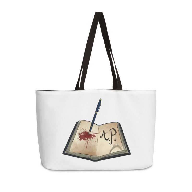 Augie Peterson Logo (Designed by The Unapologetic Artist) Accessories Weekender Bag Bag by Augie's Attic