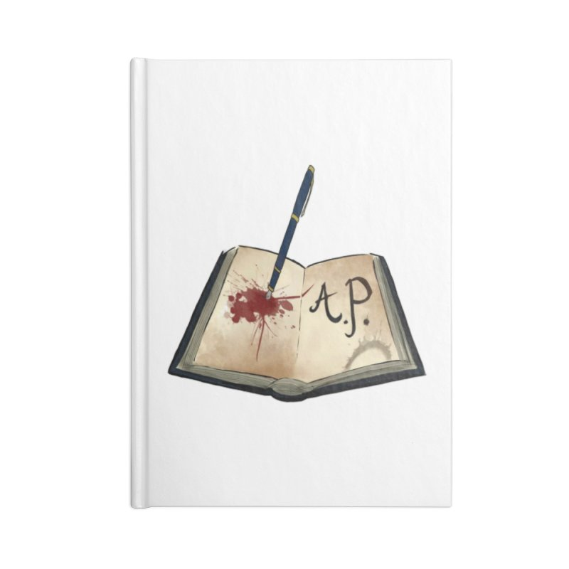 Augie Peterson Logo (Designed by The Unapologetic Artist) Accessories Lined Journal Notebook by Augie's Attic