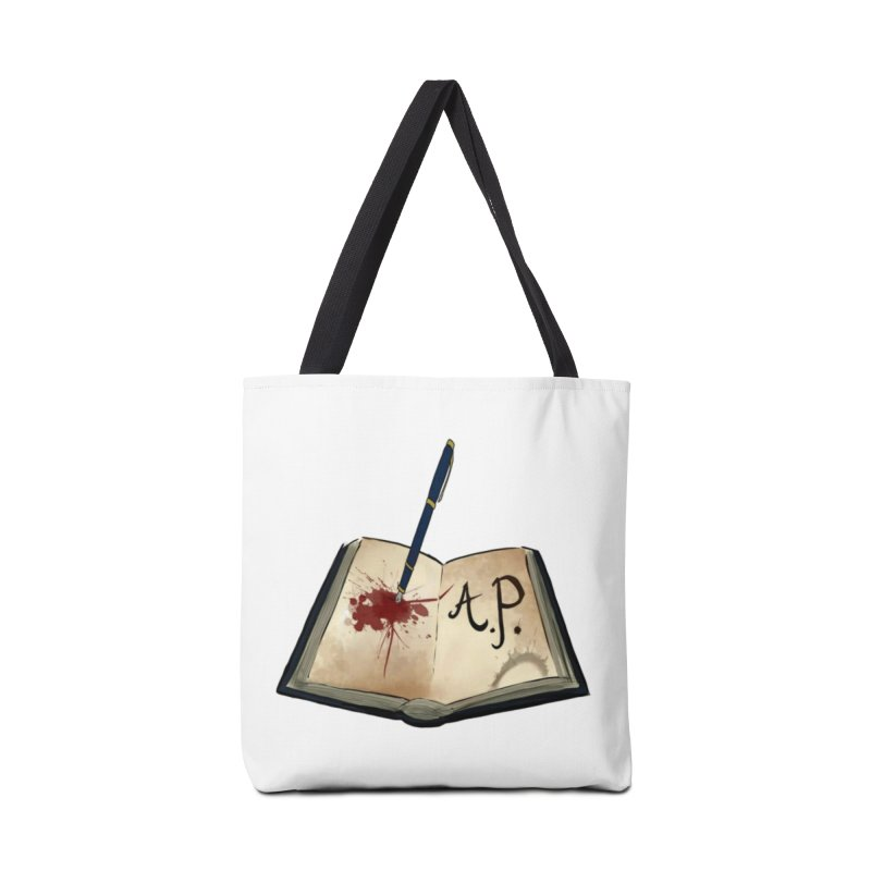 Augie Peterson Logo (Designed by The Unapologetic Artist) Accessories Tote Bag Bag by Augie's Attic