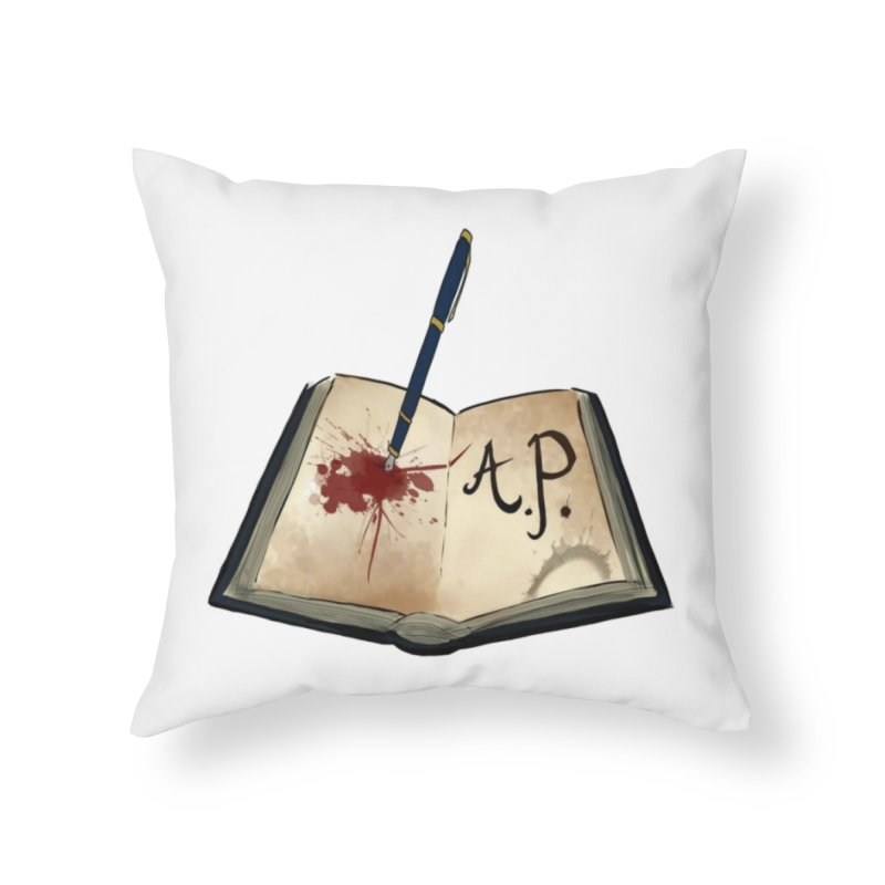Augie Peterson Logo (Designed by The Unapologetic Artist) Home Throw Pillow by Augie's Attic