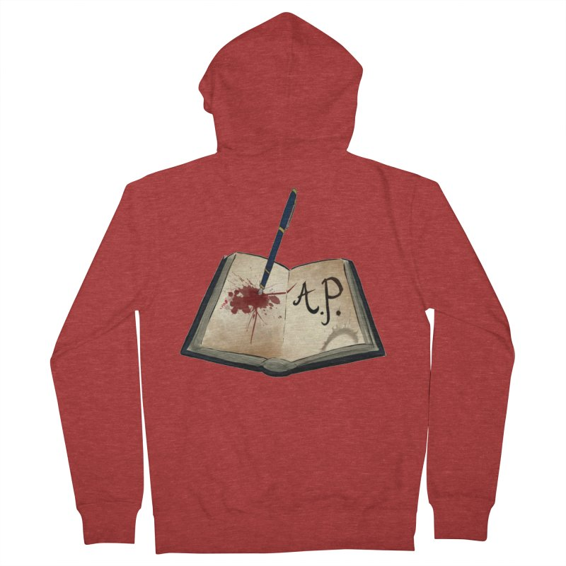 Augie Peterson Logo (Designed by The Unapologetic Artist) Women's French Terry Zip-Up Hoody by Augie's Attic