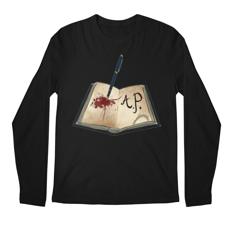 Augie Peterson Logo (Designed by The Unapologetic Artist) Men's Regular Longsleeve T-Shirt by Augie's Attic