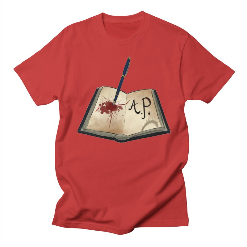 Augie Peterson Logo (Designed by The Unapologetic Artist) Men's Regular T-Shirt by Augie's Attic