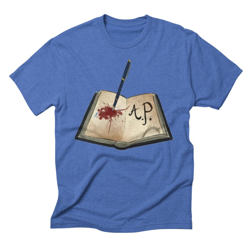 Augie Peterson Logo (Designed by The Unapologetic Artist) Men's Triblend T-Shirt by Augie's Attic