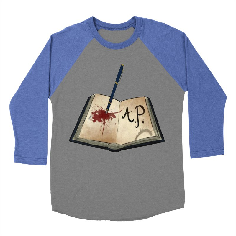 Augie Peterson Logo (Designed by The Unapologetic Artist) Women's Baseball Triblend Longsleeve T-Shirt by Augie's Attic
