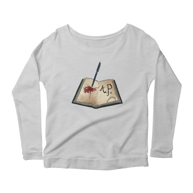 Augie Peterson Logo (Designed by The Unapologetic Artist) Women's Scoop Neck Longsleeve T-Shirt by Augie's Attic