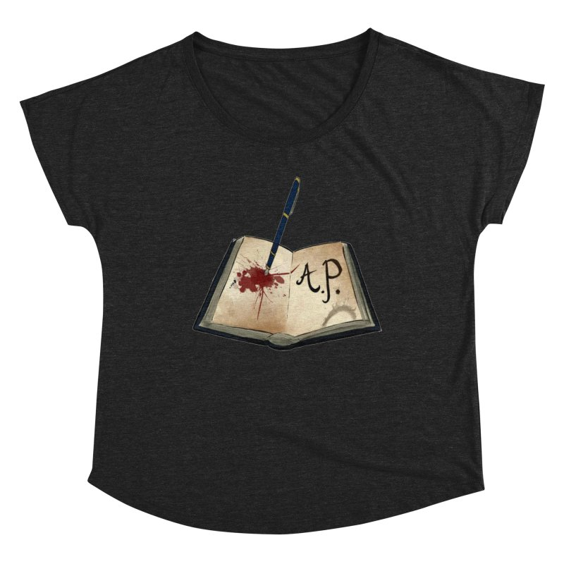 Augie Peterson Logo (Designed by The Unapologetic Artist) Women's Dolman Scoop Neck by Augie's Attic