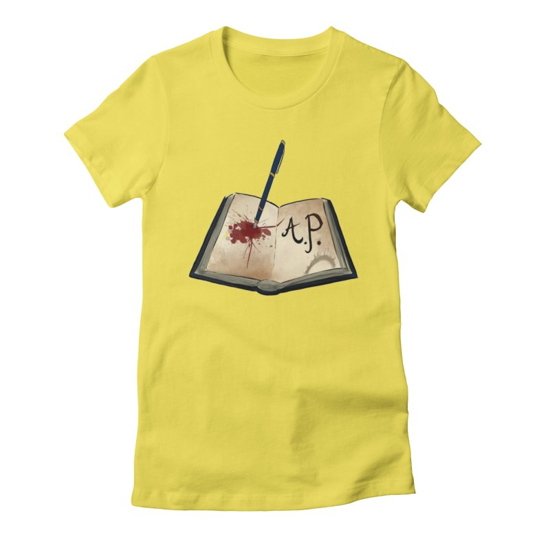 Augie Peterson Logo (Designed by The Unapologetic Artist) Women's Fitted T-Shirt by Augie's Attic