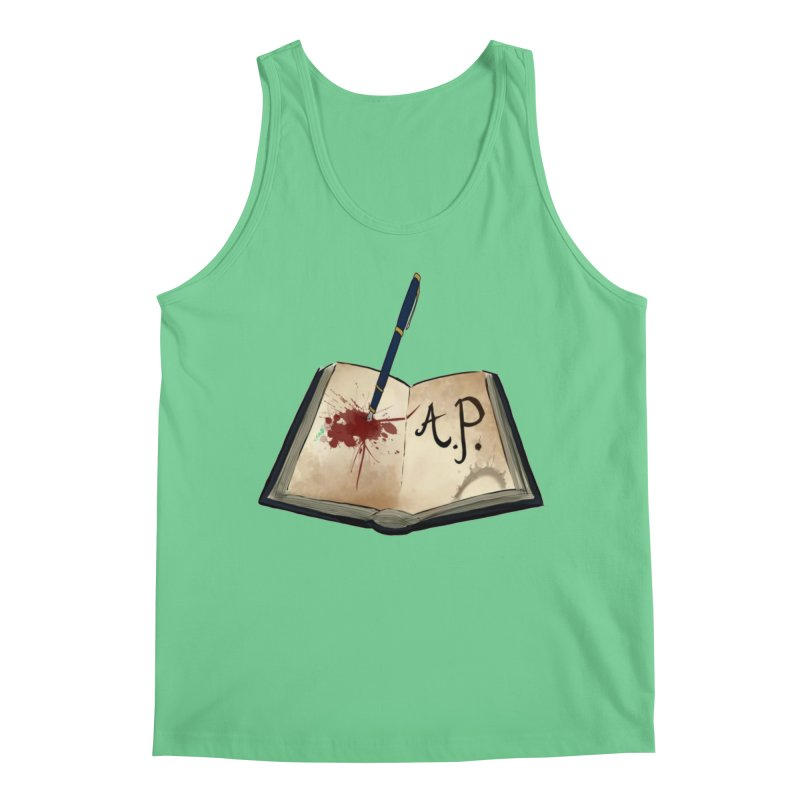 Augie Peterson Logo (Designed by The Unapologetic Artist) Men's Regular Tank by Augie's Attic